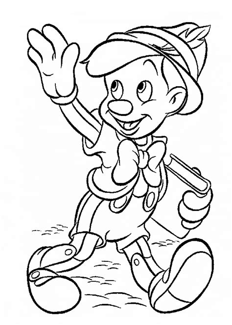 Disney Characters Printable Coloring Pages Printable Coloring Page Printable Characters