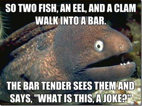 Eel Meme - bad joke eel meme memes