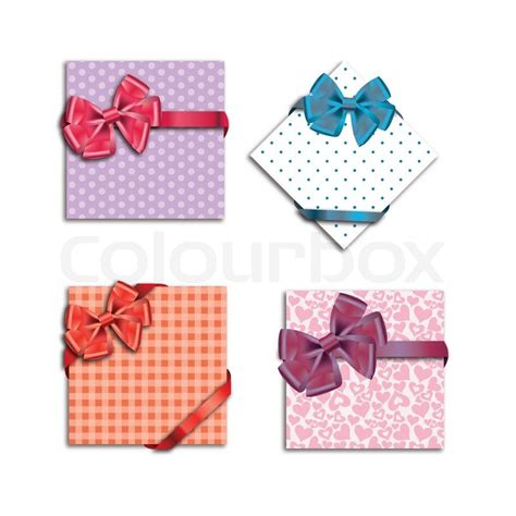 My Ribbon Gift Card Price - gift cards with ribbon stock vector colourbox