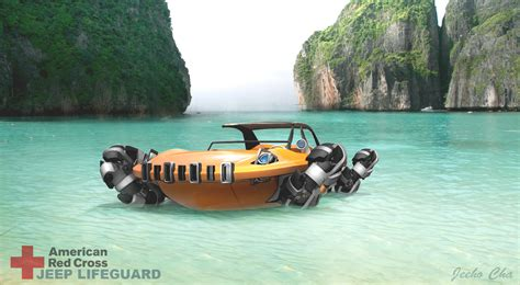 Water Jeep Jeep Unlimited By Geeho Cha United States Michelin