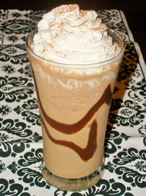 coffee drinks nutella blended coffee drink