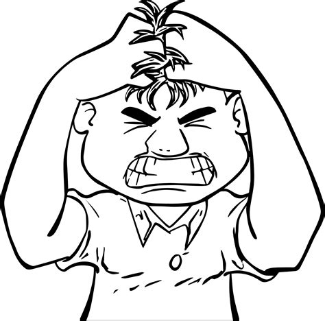 anger management coloring pages anger management man boy coloring page wecoloringpage