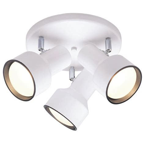 westinghouse 3 light ceiling fixture white interior multi