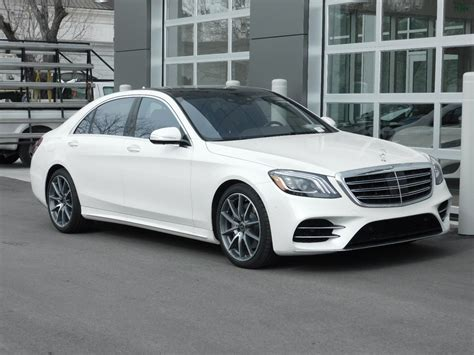 pictures of 2019 mercedes new 2019 mercedes s class s 450 4dr car in salt lake