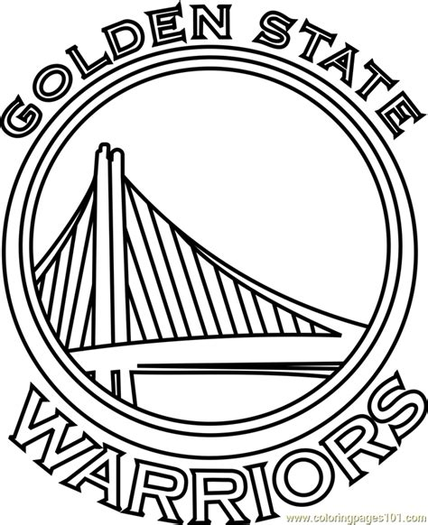 coloring pages nba warriors golden state warriors coloring page free nba coloring