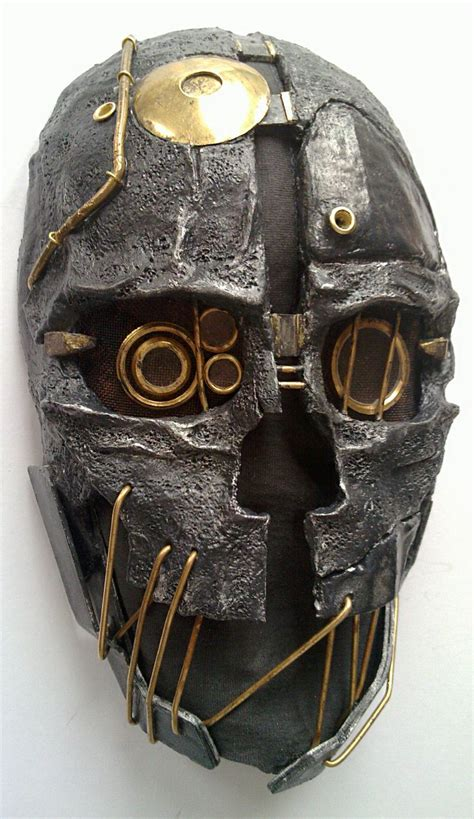 dishonored mask dishonored corvo s mask by avelc on deviantart