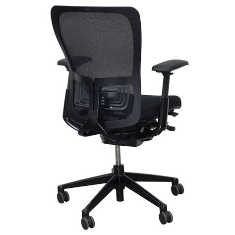 Haworth Zody Chair by Haworth Zody Mesh Back Used Task Chair Black National
