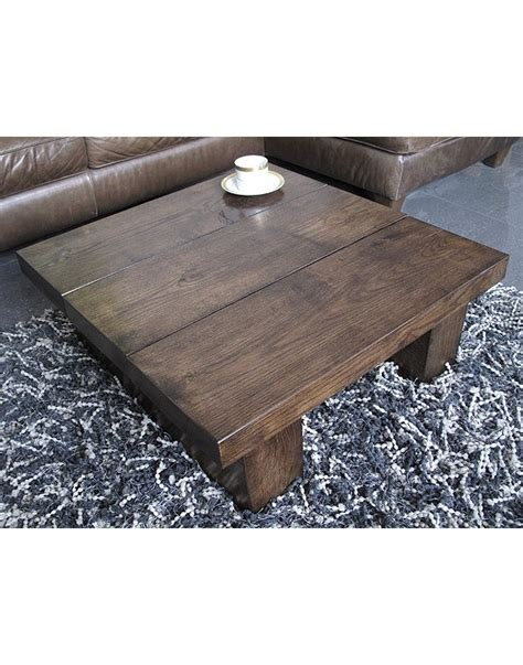 faux fur coffee table solid oak 3 board square coffee table made