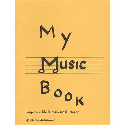 my picture book of songs my book manuscript paper book shar
