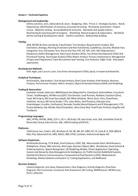 technical expertise in resume resume ideas