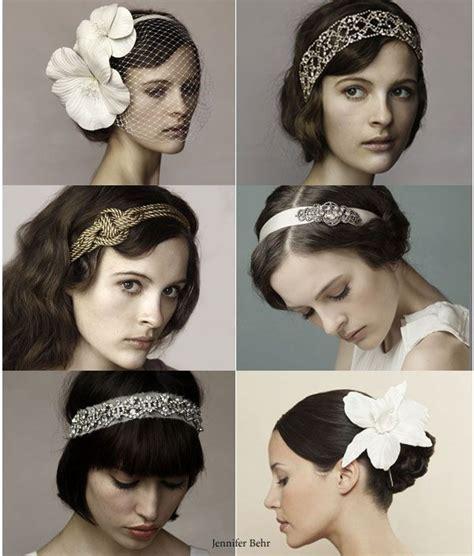 Hochzeitsfrisur 20er Jahre by Wedding Accessories For The Hair Hochzeitsfrisur