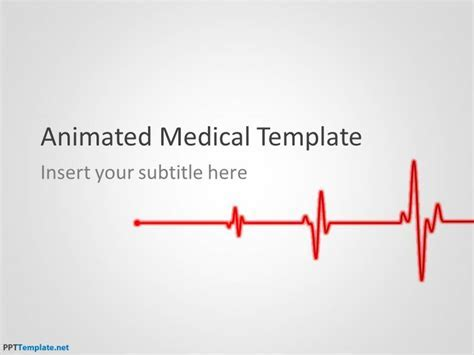 Free Animated Medical Ppt Template Healthcare Powerpoint Template