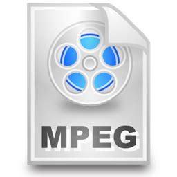 format file video mpeg clean multimedia icons iconshock
