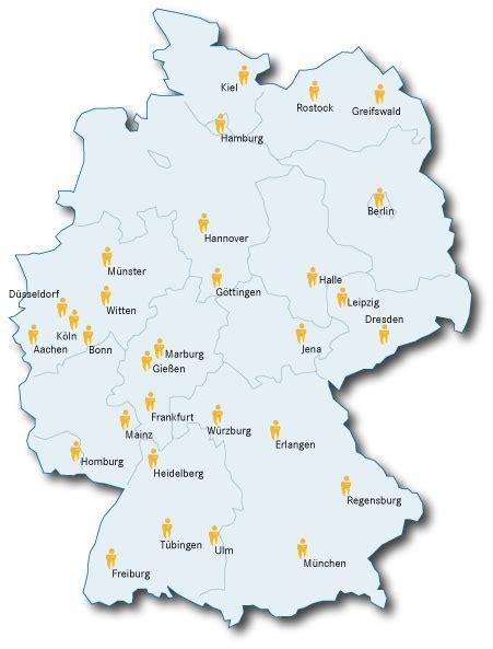 Bewerbung Medizinstudium In Deutschland die richtige uni zahniportal de