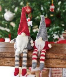 pattern download hannah cross crochet christmas gnomes