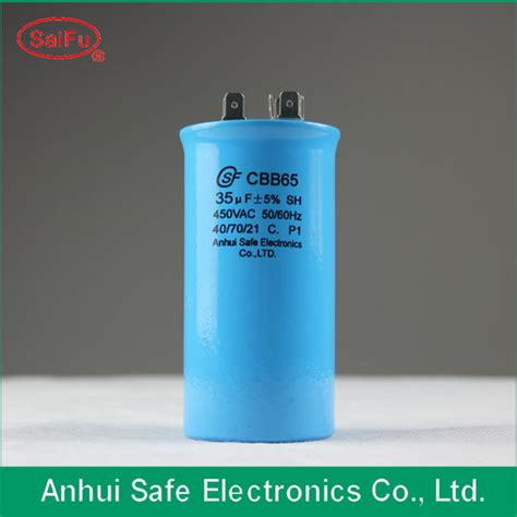 national power capacitor capacitor cbb65 for air conditioner from anhui safe china