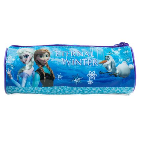 Frozen Barrel Pencil Case   298947   B&M