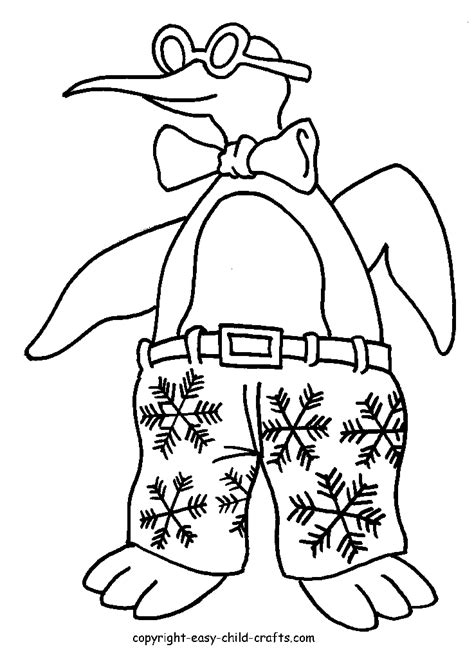 cartoon penguin coloring pages coloring home