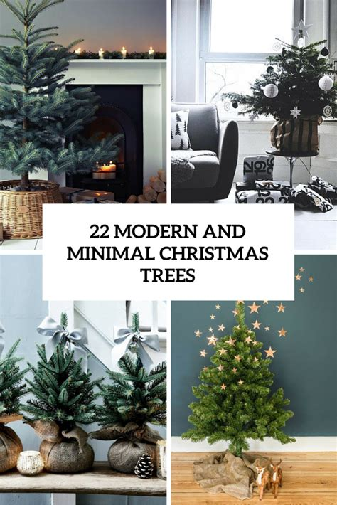 modern house christmas home decor and christmas tree 22 minimalist and modern christmas tree d 233 cor ideas digsdigs