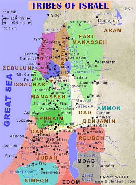 biblical map of israel map of israel interesting interesting