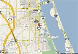 Fort Pierce Florida Map by Map Of Econo Lodge Ft Pierce Fort Pierce