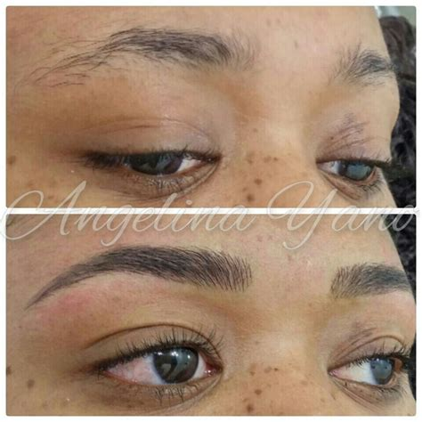 tattoo eyebrows york 69 best images about microblading eyebrows gone wrong on