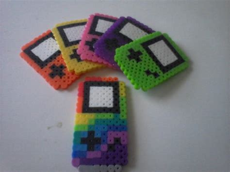 when did gameboy color come out boy color and rainbow god gameboy perler by