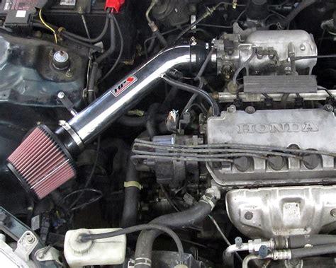 honda civic intake 27 113p hps polished ram air intake kit honda civic ek ex hx si