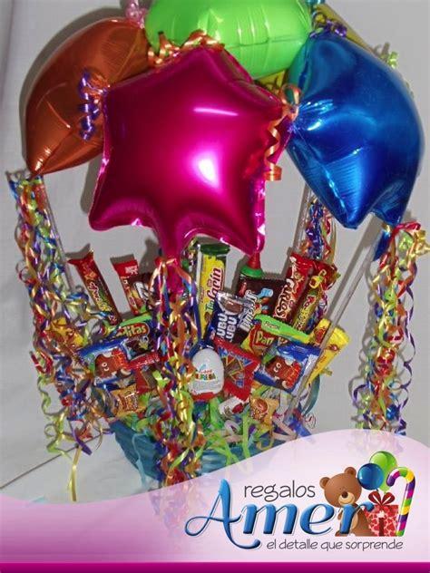 imagenes de regalo con globos deamor canasto con globo paraca 237 das y dulces y chocolates