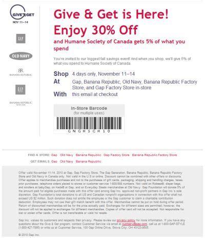 gap printable coupons may 2009 9jasports
