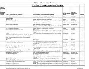 onboarding checklist template best business template