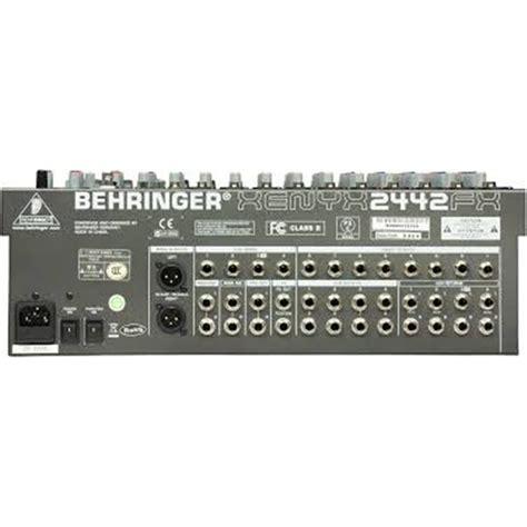 Jual Mixer Behringer Xenyx 2442fx hire behringer xenyx 2442fx mixer