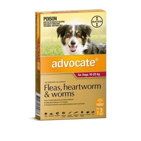 heartworm medication for puppies advocate flea and worm heartworm treatment for dogs all sizes including single ebay