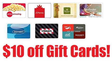 Can You Use Your Jcpenney Gift Card At Sephora - 10 off gift cards 50 egift cards or 2 25 gift cards only 40 each panera bread