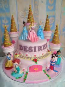 prinzessin kuchen baking princess castle fondant cake d1