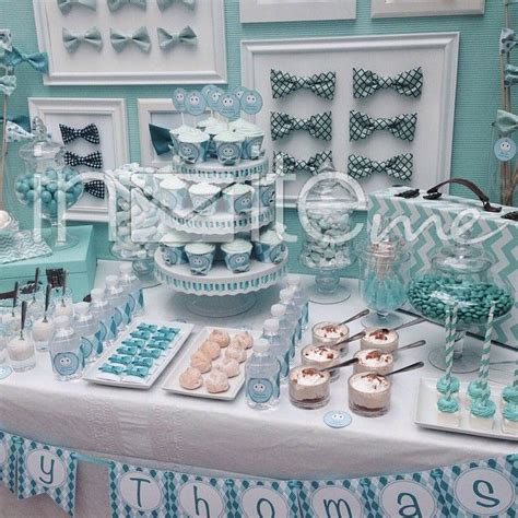 Baby Shower Table Ideas Boy by 25 Best Ideas About Bow Tie Cupcakes On