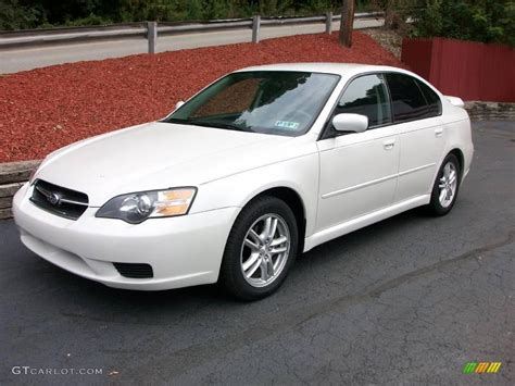 subaru legacy white 2005 satin white pearl subaru legacy 2 5i sedan 18692706