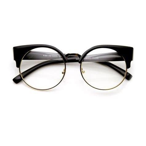 Kacamata White Half Frame S54592 best 25 black frame glasses ideas on white