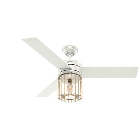 ronan ceiling fan ronan 52 in led indoor fresh white ceiling fan