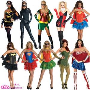 ladies superhero villain dc comic book tv film fancy