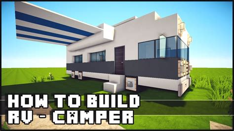 how to build a shop minecraft how to make rv cer youtube