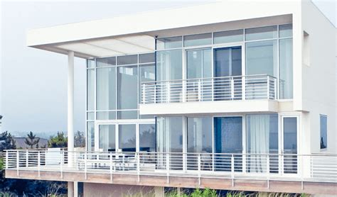 residential curtain wall vertical glazing curtain and timber walls solar