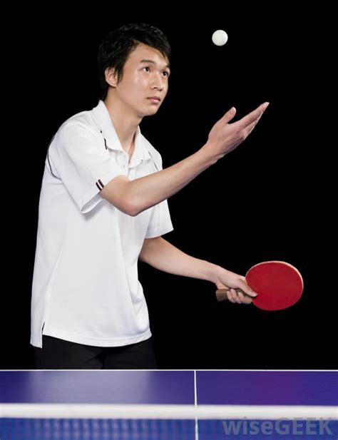 Table Tennis Serve what are ping pong with pictures