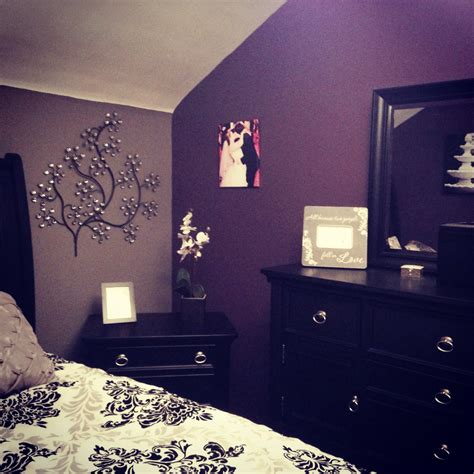 dark purple and grey bedroom my purple and grey bedroom my diy pinterest gray bedroom bedrooms and gray