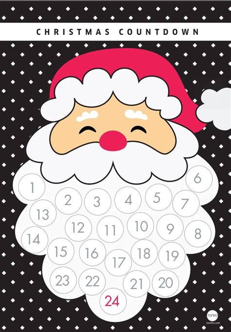 Calendario Cartulina Manualidades M 225 S De 25 Ideas 250 Nicas Sobre Calendario De Navidad En