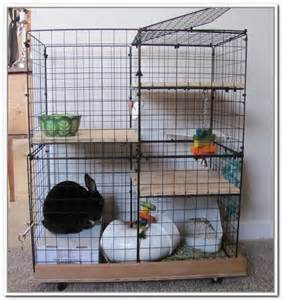 wire storage cube bunny cage don t do this this is