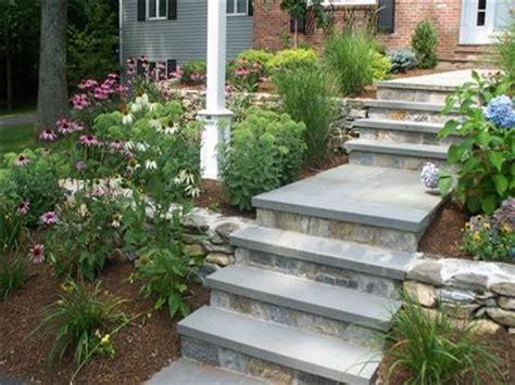 landscape design contractors walkways to front door front
