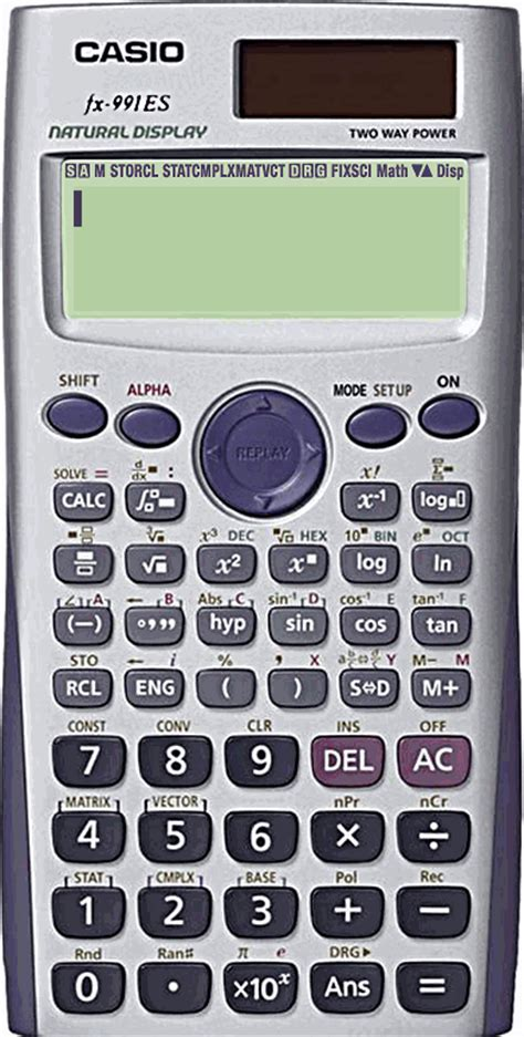 tutorial casio fx 991es quadratic equation solve fx 991es plus casio