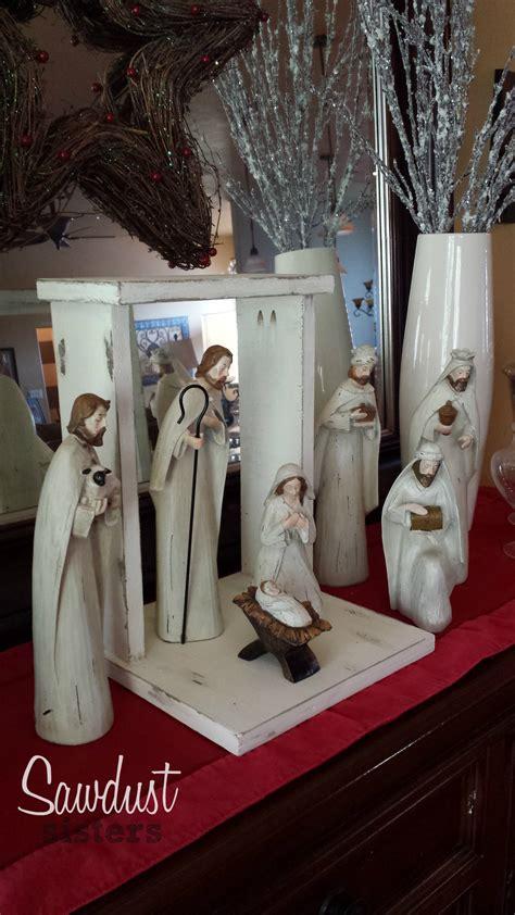 build   stylish  easy custom diy nativity stable