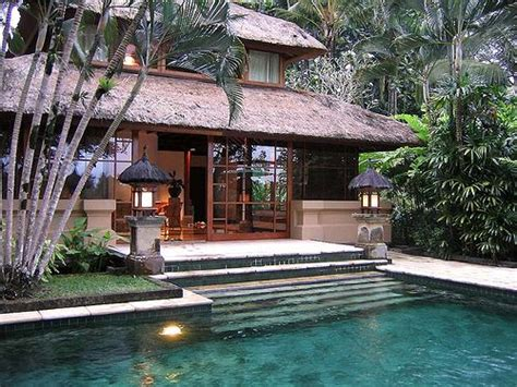 balinese house designs balinese design incorporating the pool into the rear architecture and landscape for